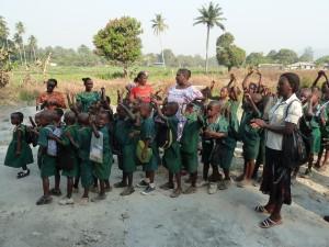 5- écoliers Makeni